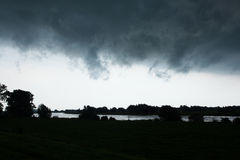 Η θύελλα μπαίνει Στοκ Φωτογραφίες