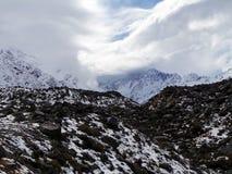 Η θύελλα που έρχεται, Aoraki/τοποθετεί το εθνικό πάρκο Cook, Νέα Ζηλανδία Στοκ Φωτογραφίες