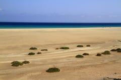 Η διάσημη λιμνοθάλασσα Risco Ελ Πάσο Playas de Sotavento, Fuert Στοκ Φωτογραφίες