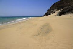 Η διάσημη λιμνοθάλασσα Risco Ελ Πάσο Playas de Sotavento, Fuert Στοκ εικόνες με δικαίωμα ελεύθερης χρήσης