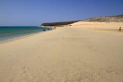 Η διάσημη λιμνοθάλασσα Risco Ελ Πάσο Playas de Sotavento, Fuert Στοκ φωτογραφία με δικαίωμα ελεύθερης χρήσης