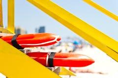Η διάσωση Lifeguard μπορεί Στοκ Εικόνα