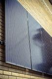 Ηλιακά πλαίσια στον τοίχο Στοκ φωτογραφία με δικαίωμα ελεύθερης χρήσης