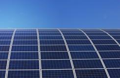 Ηλιακά πλαίσια Στοκ Φωτογραφία