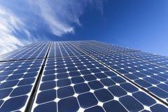 Ηλιακά φωτοβολταϊκά κύτταρα Στοκ Εικόνες