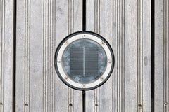 Ηλιακές στρογγυλές οδηγήσεις γεφυρών Στοκ Εικόνα