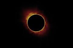 Ηλιακή έκλειψη ήλιων Στοκ Εικόνες