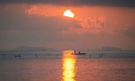 Ηλιακή έκλειψη μερική Στοκ εικόνες με δικαίωμα ελεύθερης χρήσης