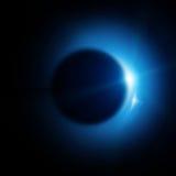 Ηλιακή έκλειψη Στοκ φωτογραφία με δικαίωμα ελεύθερης χρήσης