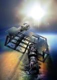 ηλιακή έκδοση ισχύος επιτροπής ανασκόπησης μπλε διανυσματική απεικόνιση
