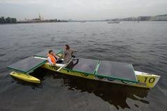Ηλιακή βάρκα Στοκ φωτογραφία με δικαίωμα ελεύθερης χρήσης