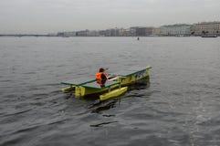 Ηλιακή βάρκα Στοκ εικόνα με δικαίωμα ελεύθερης χρήσης