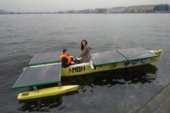 Ηλιακή βάρκα Στοκ Εικόνες