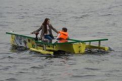 Ηλιακή βάρκα Στοκ φωτογραφίες με δικαίωμα ελεύθερης χρήσης