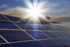 ηλιακή ενέργεια στοκ φωτογραφίες