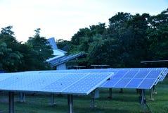 Ηλιακή ενέργεια στοκ εικόνα με δικαίωμα ελεύθερης χρήσης