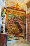 Η διακοσμημένη κρεβατοκάμαρα Στοκ φωτογραφία με δικαίωμα ελεύθερης χρήσης