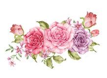 η διακοσμητική εικόνα απεικόνισης πετάγματος ραμφών το κομμάτι εγγράφου της καταπίνει το watercolor ελεύθερη απεικόνιση δικαιώματος