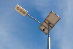 Ηλιακός ελαφρύς πόλος Στοκ Φωτογραφία