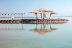 Ηλιακός θόλος στην παραλία στοκ φωτογραφίες με δικαίωμα ελεύθερης χρήσης