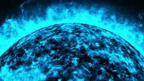 Ηλιακός κοσμικός ήλιος ελεύθερη απεικόνιση δικαιώματος