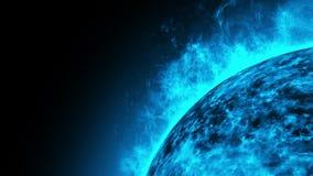 Ηλιακός κοσμικός ήλιος διανυσματική απεικόνιση