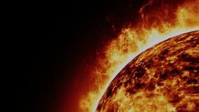 Ηλιακός κοσμικός ήλιος απεικόνιση αποθεμάτων
