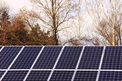 ηλιακός σταθμός ισχύος λ&e Στοκ Εικόνα