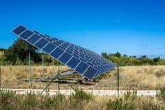 Ηλιακός τομέας το καλοκαίρι Στοκ Εικόνα