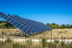 Ηλιακός τομέας το καλοκαίρι Στοκ φωτογραφία με δικαίωμα ελεύθερης χρήσης