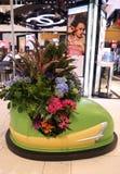 ` Η διακόσμηση λουλουδιών θέματος καρναβαλιού ` κατά τη διάρκεια του διάσημου ετήσιου λουλουδιού Macy ` s παρουσιάζει Στοκ φωτογραφίες με δικαίωμα ελεύθερης χρήσης