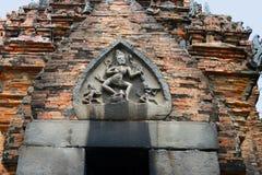 Η διακόσμηση Po Nagar Cham στους πύργους κοντά σε σύγχρονο Nha Trang, Βιετνάμ Στοκ εικόνα με δικαίωμα ελεύθερης χρήσης