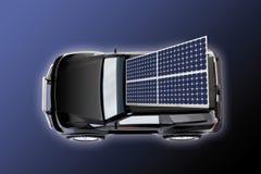 Ηλιακό αυτοκίνητο στοκ φωτογραφία με δικαίωμα ελεύθερης χρήσης