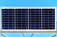 Ηλιακό κύτταρο και ανανεώσιμη ενέργεια Στοκ Φωτογραφία
