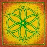 Ηλιακό πλέγμα Manipura στοκ εικόνες