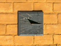 Ηλιακό ρολόι γρανίτη στοκ εικόνα