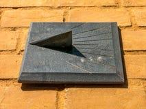 Ηλιακό ρολόι γρανίτη στοκ φωτογραφία