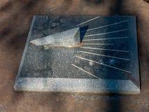 Ηλιακό ρολόι γρανίτη στοκ φωτογραφία με δικαίωμα ελεύθερης χρήσης