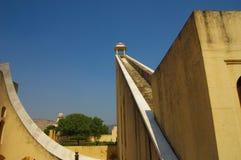Ηλιακό ρολόι παρατηρητήριων του Jaipur Στοκ Εικόνες