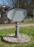 Ηλιακό ρολόι ύψους σε Aiello Στοκ εικόνα με δικαίωμα ελεύθερης χρήσης