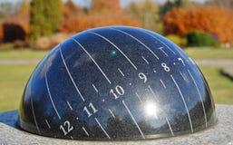 Ηλιακό ρολόι στοκ φωτογραφία με δικαίωμα ελεύθερης χρήσης