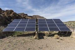 Ηλιακό σύστημα στην εθνική κονσέρβα Mojave στοκ φωτογραφίες με δικαίωμα ελεύθερης χρήσης