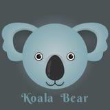 Η διανυσματική εικόνα ενός χαριτωμένου koala αντέχει Στοκ εικόνα με δικαίωμα ελεύθερης χρήσης