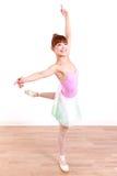 Η ιαπωνική γυναίκα χορεύει μπαλέτο Στοκ φωτογραφίες με δικαίωμα ελεύθερης χρήσης