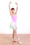 Η ιαπωνική γυναίκα χορεύει μπαλέτο Στοκ Εικόνα