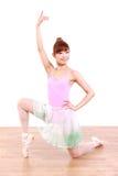 Η ιαπωνική γυναίκα χορεύει μπαλέτο Στοκ Φωτογραφία