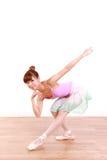 Η ιαπωνική γυναίκα χορεύει μπαλέτο Στοκ Φωτογραφίες