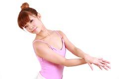 Η ιαπωνική γυναίκα χορεύει μπαλέτο Στοκ Εικόνες