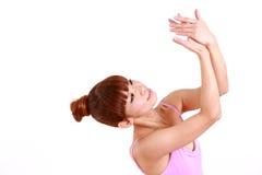 Η ιαπωνική γυναίκα χορεύει μπαλέτο Στοκ φωτογραφία με δικαίωμα ελεύθερης χρήσης