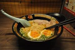 Η ιαπωνική σούπα κόκκαλων Στοκ φωτογραφίες με δικαίωμα ελεύθερης χρήσης